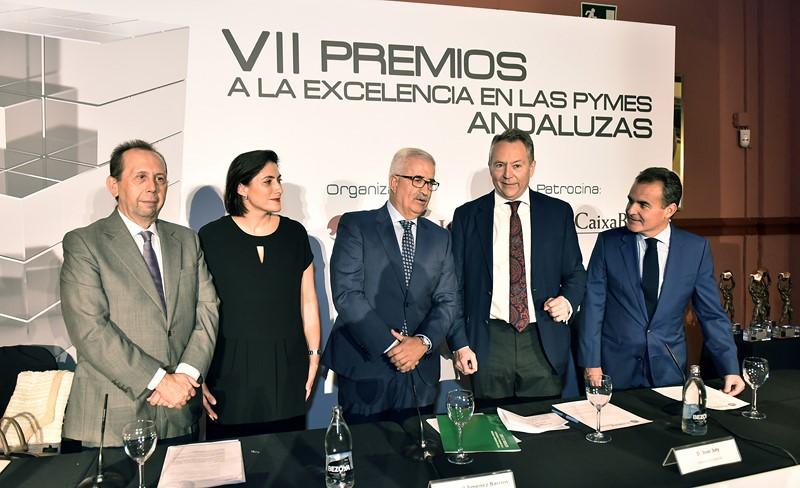 José Antonio Carrizosa, María Luisa Martínez Gistau, Manuel Jiménez Barrios, José Joly y Rafael Herrador